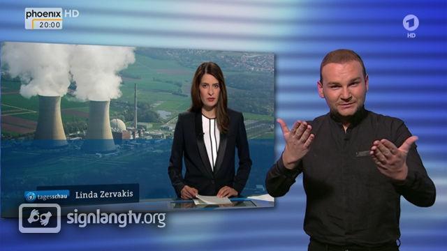 ARD Tagesschau - German Sign Language news