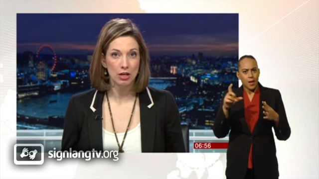 BBC Breakfast News - British Sign Language news