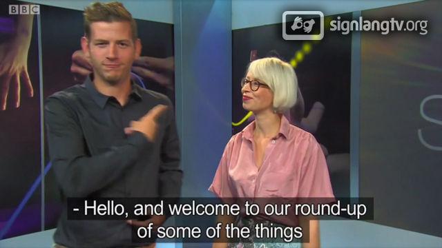 BBC See Hear - Deaf TV Show in British Sign Language