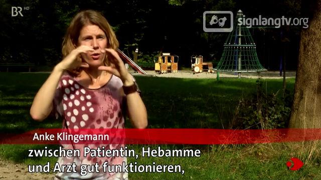 BR Sehen Statt Hoeren - Deaf TV Show in German Sign Language