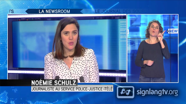 CNEWS Journal des Sourds et Malentendants - French Sign Language news