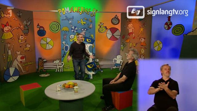 CT Pomahejme si - kids in need in Czech Sign Language