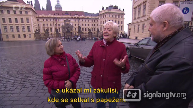 CT Televizny Klub Neslysicich - Deaf TV Show in Czech Sign Language