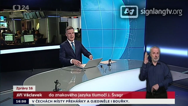 CT Zpravy - Czech Sign Language news