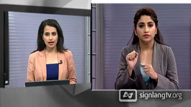 DD News for the Hearing Impaired - Indian Sign Language news