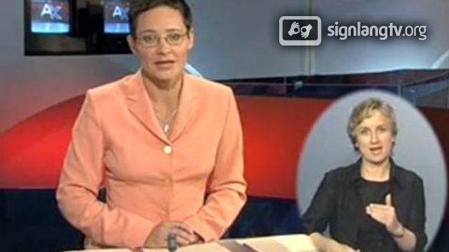 ETV Aktuaalne kaamera - Estonian Sign Language news