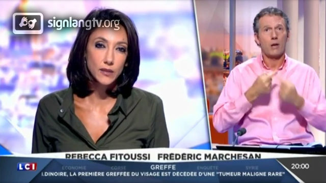 LCI Le Journal - French Sign Language news
