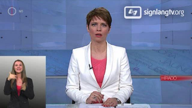MTV Hirado - Hungarian Sign Language news