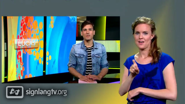 NOS Jeugdjournaal - kids Dutch Sign Language news