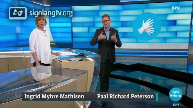 NRK Tegnspraknytt - Norwegian Sign Language news