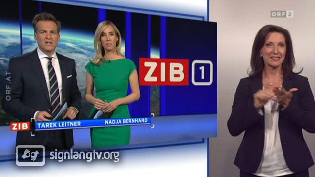 ORF Zeit im Bild - Austrian Sign Language news
