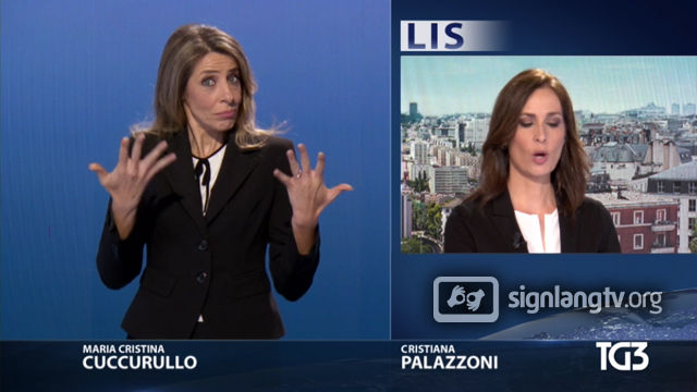 RAI TG 3 LIS - Italian Sign Language news