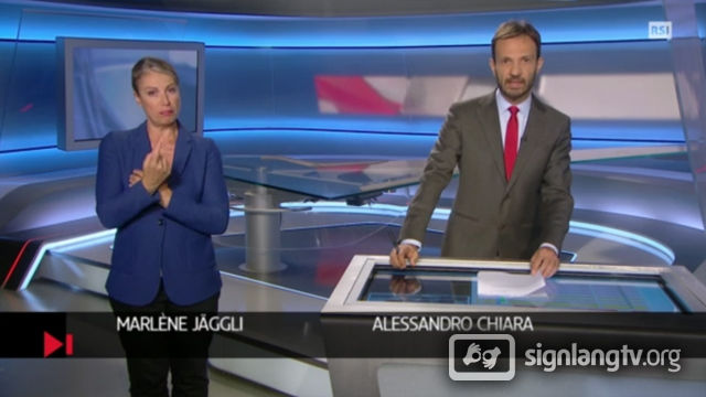 RSI TG Flash - Swiss Italian Sign Language news