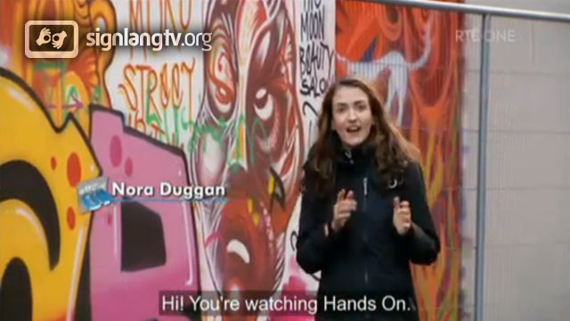 RTE Hands On - Deaf TV Show in Irish Sign Language
