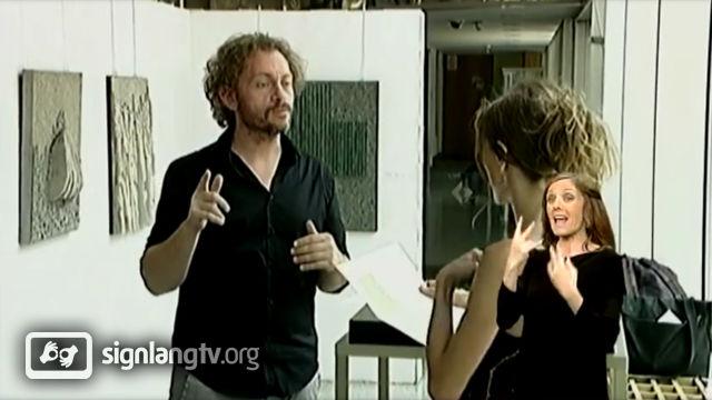 RTS Mesto za nas - Disability show with Serbian Sign Language news