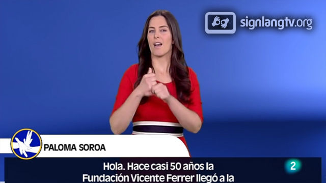 RTVE En Lengua de Signos - Deaf TV Show in Spanish Sign Language