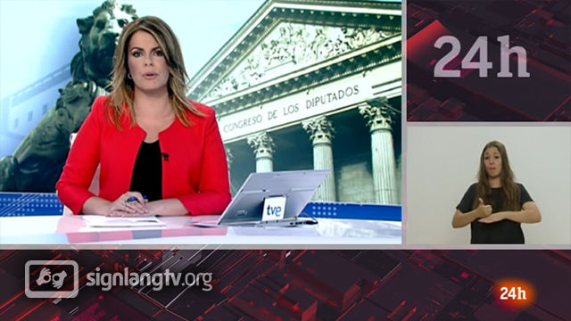 RTVE Telediario - Spanish Sign Language news