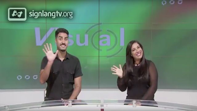 TV Brasil Jornal visual - Brazilian Sign Language news