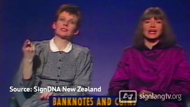 TVNZ News Review - New Zealand Sign Language news