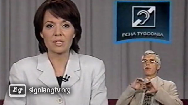 TVP Echa Tygodnia - Polish Sign Language news