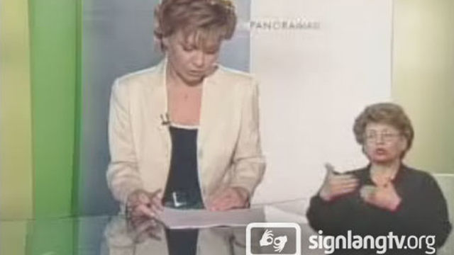 TVP Panorama - Polish Sign Language news