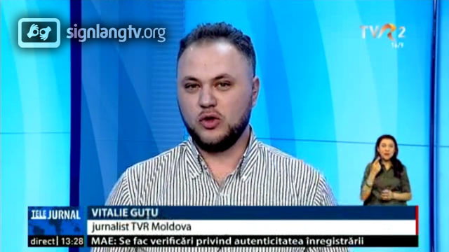 TVR Telejurnal TVR2 - Romanian Sign Language news